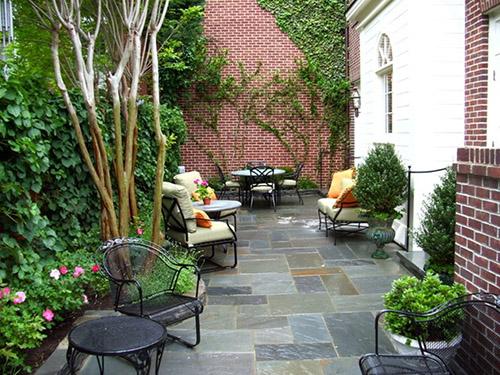 Фото двориков и их дизайн фото